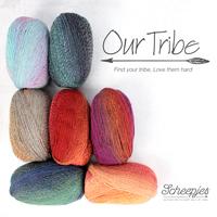 Scheepjes Our Tribe - VIELE FARBEN! Sockenwolle / Tücherwolle
