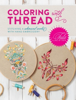 Coloring with Thread Tula Pink