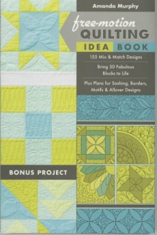 Free-Motion Quilting Idea Book by Amanda Murphy Quiltbuch