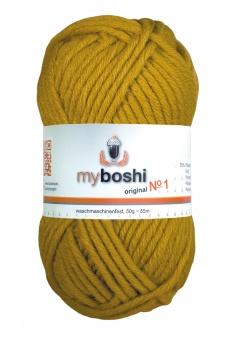 myboshi original No.1 Wolle - Trendsetter Häkelgarn!  Curry 111
