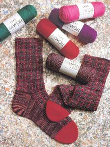 Jawoll Uni Sockenstrickgarn - 50g Knäuel - Sockenwolle von Lang Yarns