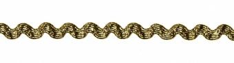 24 Farben Zackenlitze Medium Rick Rack 13mm  Metallic Gold