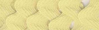 24 Farben Zackenlitze Medium Rick Rack 13mm  Baby Maize / Pastell-Maisgelb