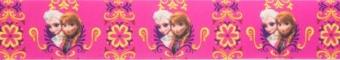 Bedrucktes Schrägband: Frozen Quiltbinding Anna & Elsa - Original Disney's Die Eiskönigin