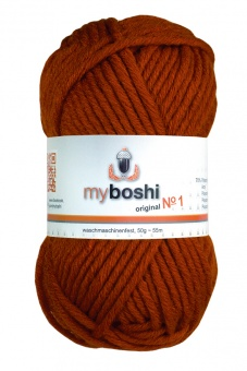 myboshi original No.1 Wolle - Trendsetter Häkelgarn!  Cayenne 118