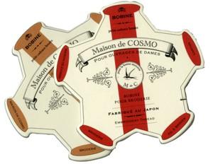 Maison de Cosmos - Pentagon Garnkarte