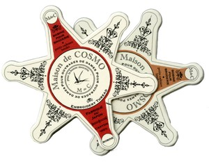 Maison de Cosmos - Stern Garnkarte