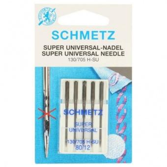 Anti-Haft Super Universal Nähmaschinennadeln - Schmetz Universalnadeln 130/705 H  No. 80 / 12