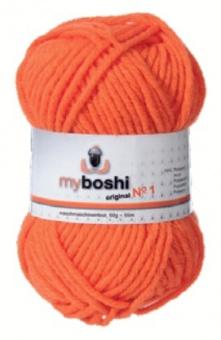 myboshi original No.1 Wolle - Trendsetter Häkelgarn!  Orange 131