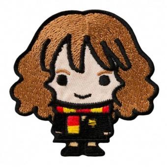 "Hermine Granger - Harry Potter Bügelapplikationen ""Kawaii Characters"" - Original Wizarding World J.K. Rowling's Collection Lizenz - Aufbügelbare Iron On Patches"