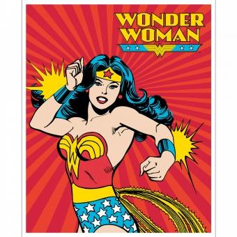 PANEL! Wonder Woman Lizenzstoff Comicstoff Superheldinnenstoff
