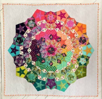 Tula Pink Nova Quilt Paper Pieces plus Schnittmuster!
