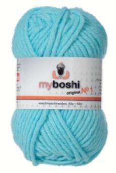 myboshi original No.1 Wolle - Trendsetter Häkelgarn!  Himmelblau 151 (Skyblue)