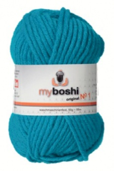 myboshi original No.1 Wolle - Trendsetter Häkelgarn!  Türkis 152 (Turquoise)