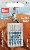 Leder Nähmaschinen-Nadeln - Ledernadeln - Nähmaschinennadeln No. 80-100 Schmetz 130/705 H LL