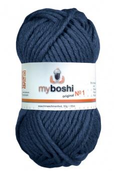 myboshi original No.1 Wolle - Trendsetter Häkelgarn!  Blaubeere 157