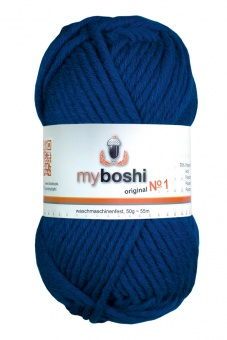 myboshi original No.1 Wolle - Trendsetter Häkelgarn!  Saphir 159