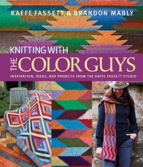 SIGNIERT! Knitting with the Color Guys - MIT AUTOGRAMM VON KAFFE FASSETT & BRANDON MABLY