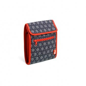 Stricknadel-Tasche mit Sashiko Motivstoff - Rundstricknadelmappe Kyoto PRYM
