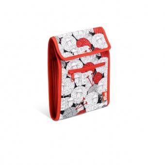 Stricknadel-Tasche mit Schäfchen Motivstoff - Rundstricknadelmappe Merino PRYM