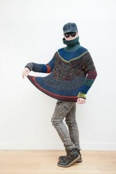 DEUTSCH! Askews Me Sweater by Stephen West - Westknits Pullover - Deutsche Strickanleitung