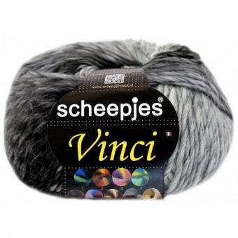 Vinci Grobstrickgarn - Schwarz-Weißes Kuschelgarn - Scheepjes Strickgarne / Häkelgarne