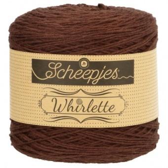 Scheepjes Whirlette Bobbel - VIELE FARBEN! Häkelgarn / Strickgarn 863 Chocolat