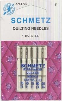 Maschinen Quilt-& Steppnadeln - Schmetz 130/705 H-Q Nähmaschinennadeln