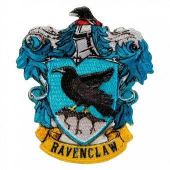 "Haus Ravenclaw Wappen - Harry Potter Bügelapplikationen ""Hogwarts House Crests"" - Original Wizarding World J.K. Rowling's Collection Lizenz - Aufbügelbare Iron On Patches"