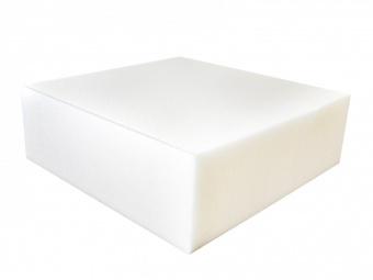 """Eckige Schaumstoffeinlage z.B. für Hocker, Kissen uvm. - Foam Tuffet 18"""" x 18"""" x 6 inches"""