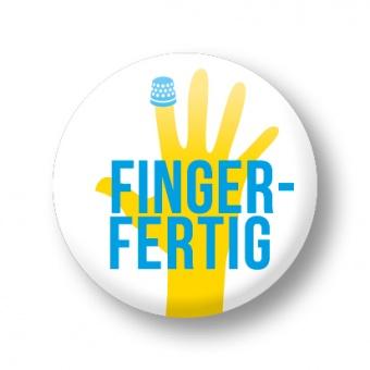 Fingerfertig Anstecker - Strickimicki Buttons