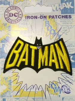 Batman Logo DC Comics Originals - Bügelapplikationen Superhelden
