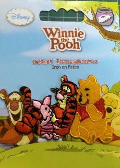 Winnie der Pooh Bär & Freunde Tigger & Ferkel - Original Disney Winnie the Pooh & Piglet Bügelapplikationen