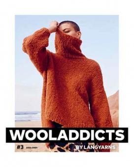Wooladdicts #3 - Trendiges Strickmagazin - Lang Yarns Anleitungsbuch & Strickheft Nr.3
