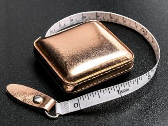 Rosé-Goldene Maßbänder - Roségold Rollmaßband - 150cm / 60 inch Metermaß