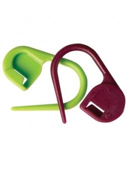 30 Verschließbare Maschenmarkierer / Ringmarkierer - KnitPro