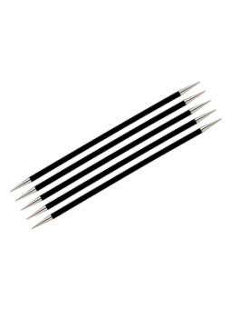 KnitPro Karbonz - Nadelspiele 6 Inch / 15cm  3.25mm - 15cm