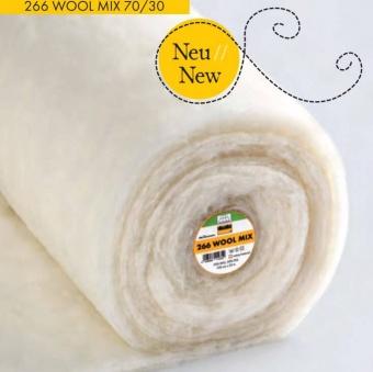 266 Wool Mix 70/30 Wollvlies - 70% Wolle, 30% Polyester Volumenvlies - Vlieseline Freudenberg