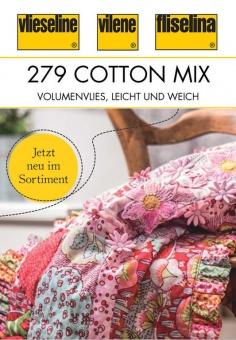 279 Cotton Mix 80/20 Vlies - 80% Baumwolle, 20% Polyester Volumenvlies - Freudenberg