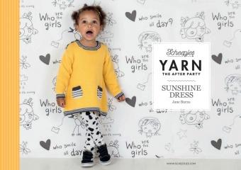 Sunshine Dress Strickanleitung - Jane Burns Kinderpullover - Scheepjes Yarn - The After Party Number 28