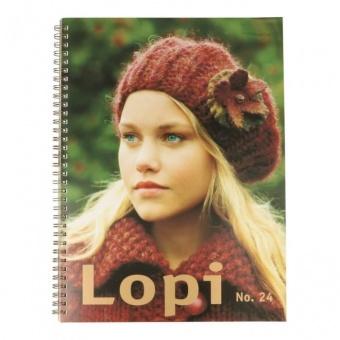 Lopi Strickbuch No. 24 - Englische Ausgabe
