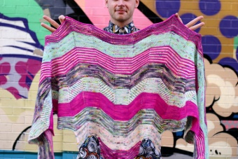 DEUTSCH! Building Blocks Shawl MKAL 2016 by Stephen West - Westknits Schal / Tuch - Deutsche Strickanleitung