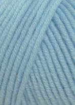 Merino 120 Strickgarn - VIELE FARBEN! Merinostrickgarn - Lang Yarns Häkelgarn Merino Fine Superwash Hellblau # 0020