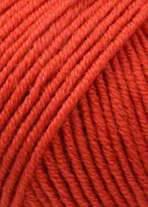 Merino 120 Strickgarn - VIELE FARBEN! Merinostrickgarn - Lang Yarns Häkelgarn Merino Fine Superwash Ziegel # 0211