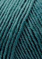 Merino 120 Strickgarn - VIELE FARBEN! Merinostrickgarn - Lang Yarns Häkelgarn Merino Fine Superwash Atlantik # 0274
