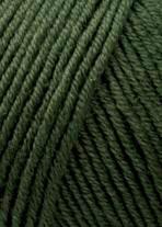 Merino 120 Strickgarn - VIELE FARBEN! Merinostrickgarn - Lang Yarns Häkelgarn Merino Fine Superwash Lodengrün # 0498