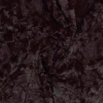 Luxuriöser Kunstpelz - Schwarzer Fellstoff