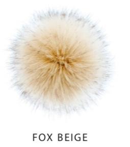 Vegane Kunstfellbommel - Aheadhunter PomPoms - Mützenbommel aus Österreich Premium Fox Beige