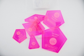 Tula Pink Tula Nova Acrylic Template Set / Acrylschablonen