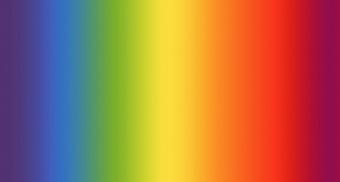 """Überbreiter XXL Regenbogenstoff mit Farbverlauf - 108"""" Essential Gradations Rainbow - Überbreiter Rückseitenstoff"""